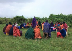 'Nasaruni' ('Saved') VICOBA group meeting