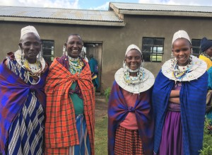 Some of the women from the 'Naidimi' (Able) VICOBA group